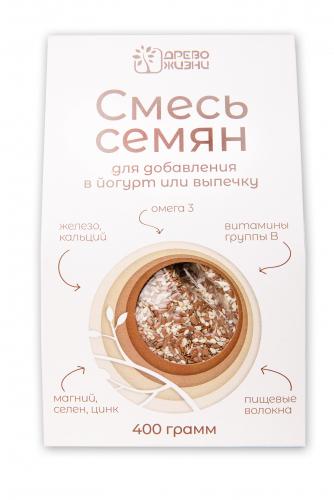 Смесь семян для добавления в йогурт или выпечку 400г