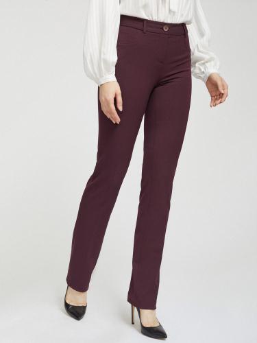 Эластичные прямые брюки