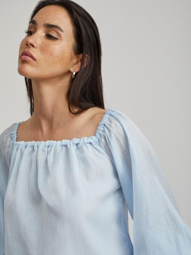 Блуза из органзы