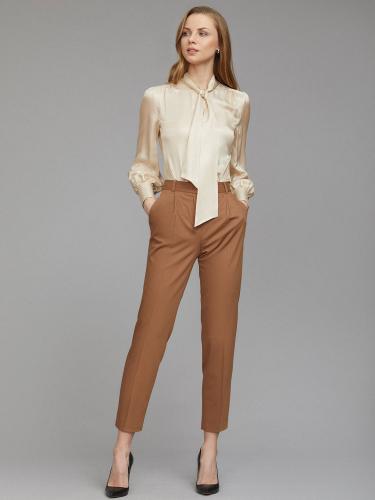 Блуза из смесового шелка