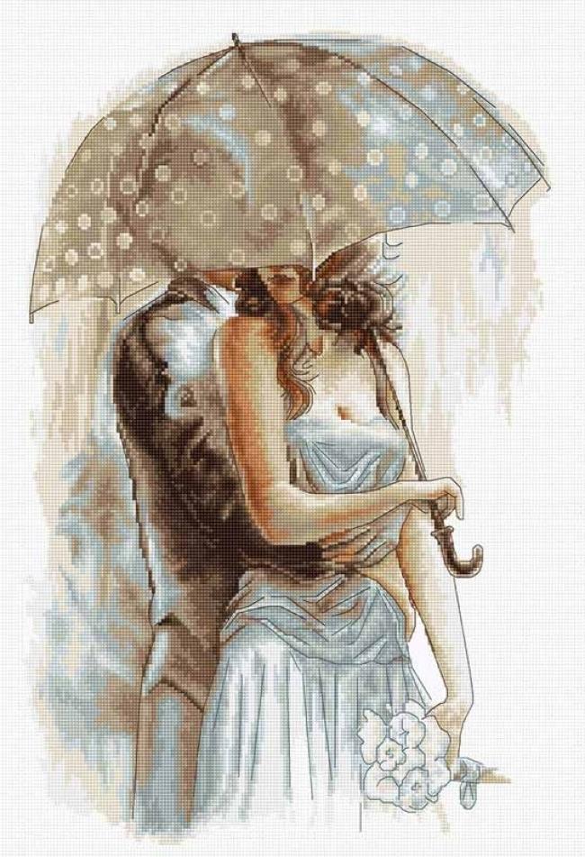 ангел под зонтом картинки так