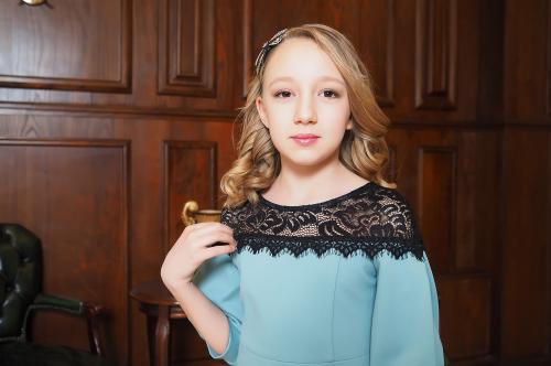 Платье детское Фисташковый