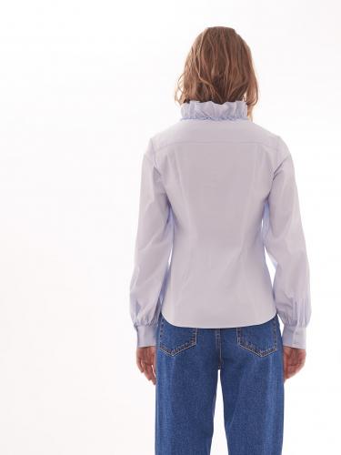 Блуза с оборками