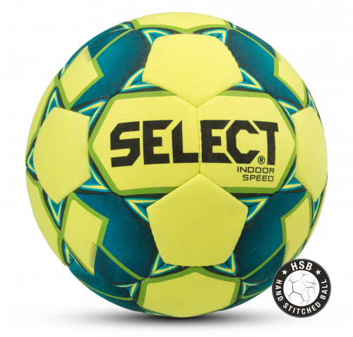 SELECT INDOOR SPEED, мяч м/ф ((552) жел/син/зел/чер, 4)
