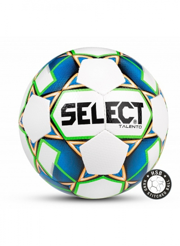 SELECT TALENTO мяч ф/б ((102) бел/син/зел, 4)