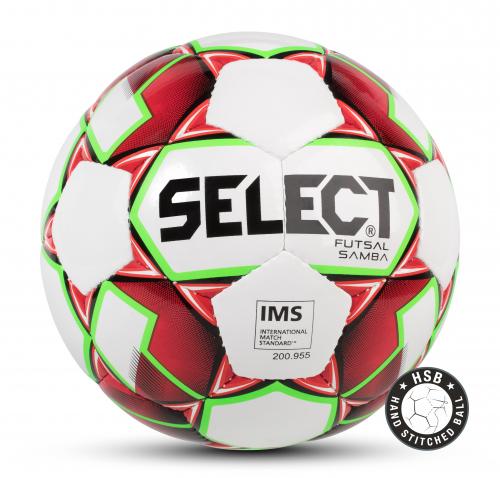 SELECT FUTSAL SAMBA IMS, мяч м/ф ((003) бел/крас/зел, 62-64)