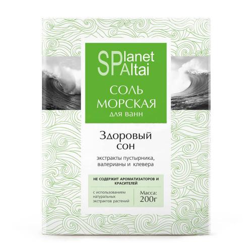 Соль морская «Здоровый сон» для ванн
