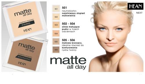 Бронзирующая пудра Matte All Day compact powder jamaica sun 505