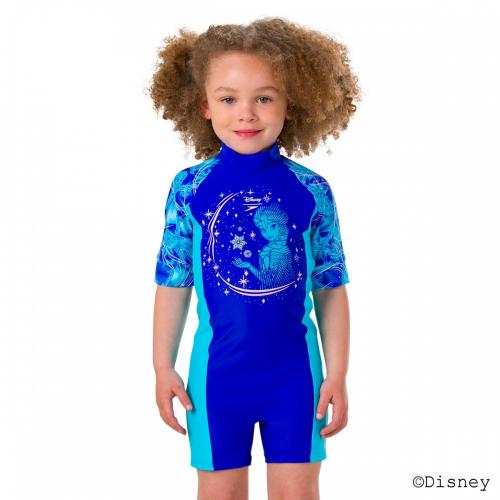 SPEEDO Disney Frozen All In One костюм дет., (C783) гол/бирюз
