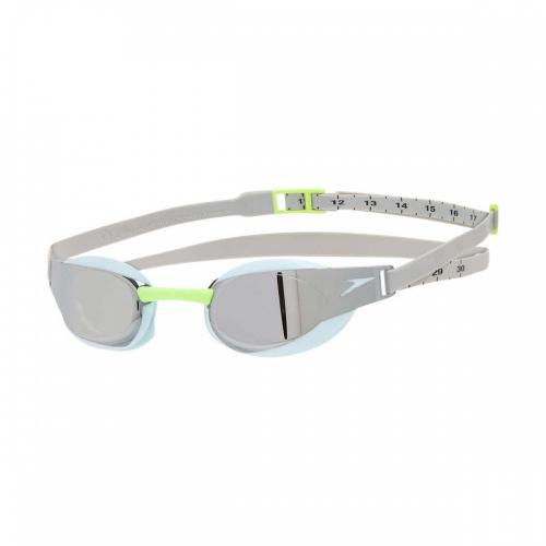 SPEEDO Fastskin Elite Goggle Mirror очки стартовые, (C849) гол/сереб