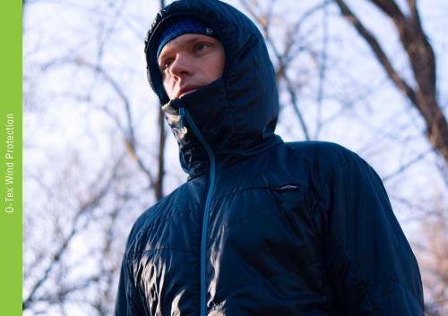 Ветрозащитная одежда O-TEX Wind Protection (с утеплителем)
