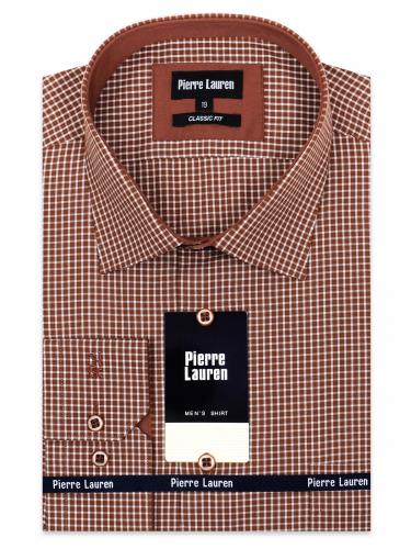 0204TECL Мужская классическая рубашка с длинным рукавом Elegance Classic