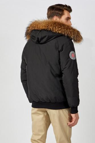 Куртка #174509Черный