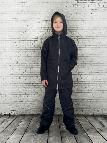Куртка на флисе удлиненная арт. 4722