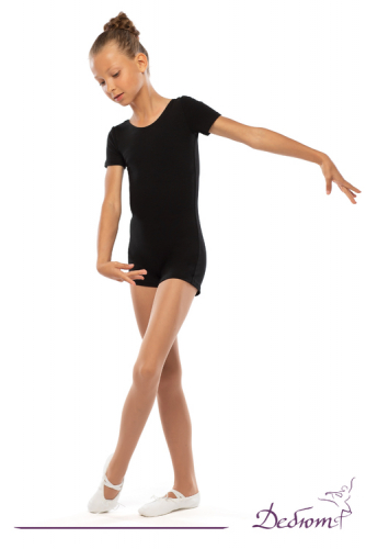 ДГ 080 Комбинезон гимнастический с шортами рукав - футболка В наличии