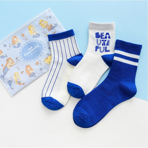 Набор носков «Beautiful» в мягкой упаковке, 3 пары C515813