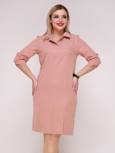Платье 323 персиковый