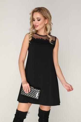 Платье 231 черный