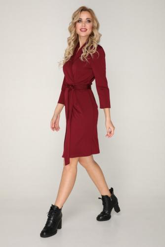 Платье 228/1 бордовый
