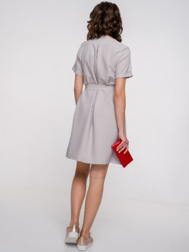 Платье 161, серый