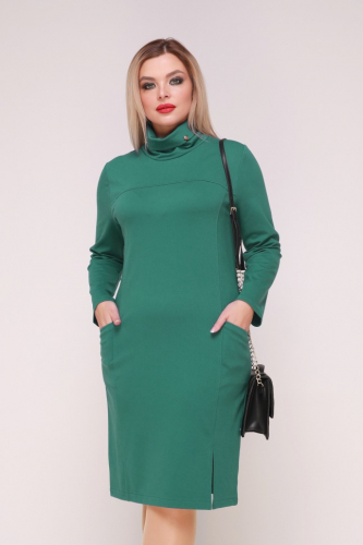 Платье 318/1 зеленый