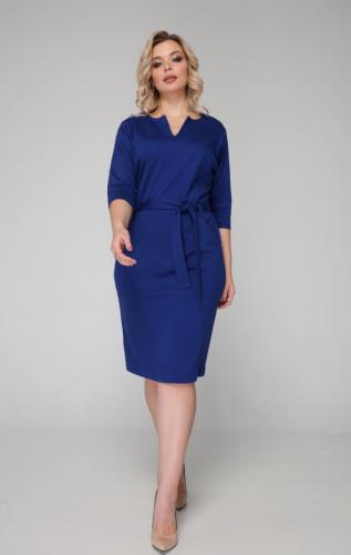 Платье 021/6 синий
