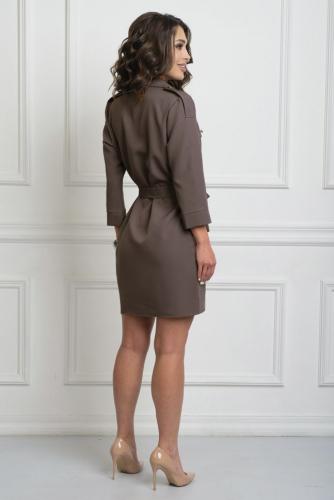 Платье 201/2 коричневый