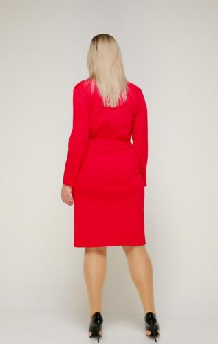Платье 317/1 яркий малиновый
