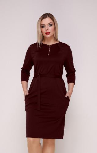 Платье 315/1 слива