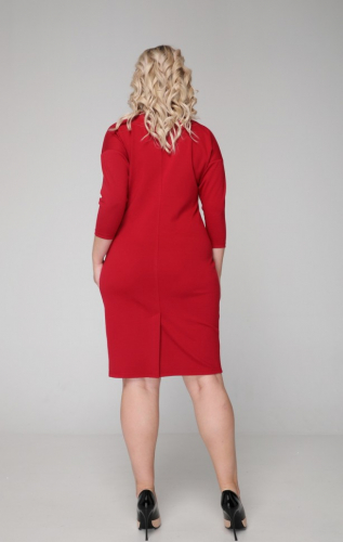 Платье 026/3 малиновый