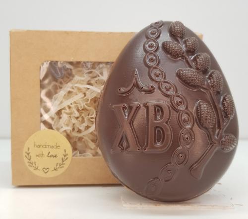 Шоколадное яйцо ХВ с вербой