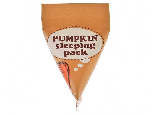 Ночная маска с экстрактом тыквы too cool for school pumpkin sleeping pack 1 шт- 3 мл