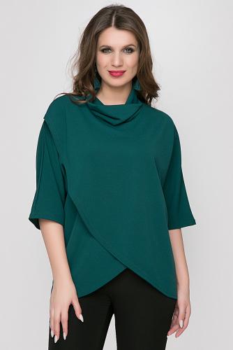 Пуловер #170368Зеленый
