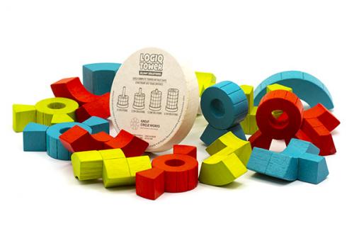 Игра головоломка (логическая башня) LOGIQ TOWER