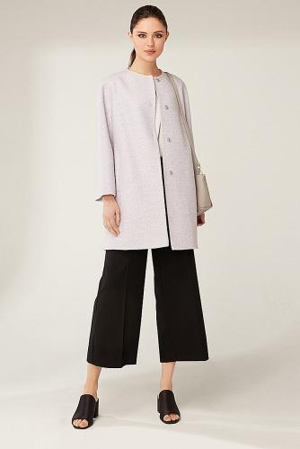 Пальто #177919Светло-сиреневый