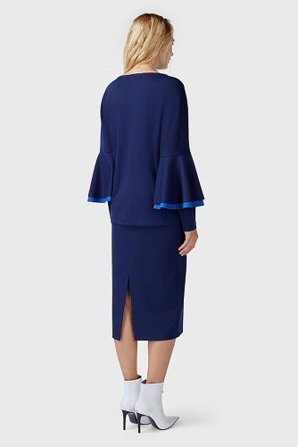Блуза #180180Темно-синий