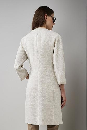 Пальто #176415Слоновая кость