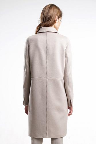 Пальто #176351Холодный бежевый