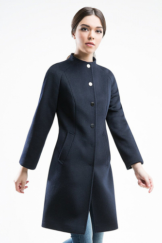 Пальто #176353Черный