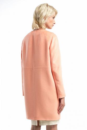 Пальто #176338Абрикос