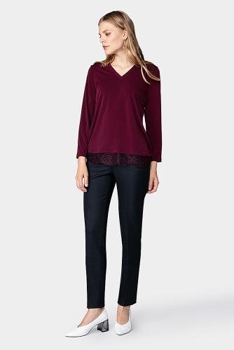 Блуза #178915Сливовый