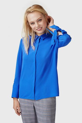 Блуза #179508Синий
