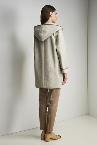 Пальто #176424Серый