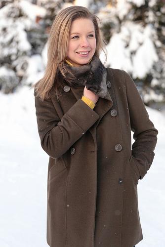 Пальто #176412Хаки