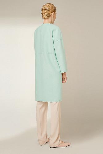 Пальто #177783Мятный