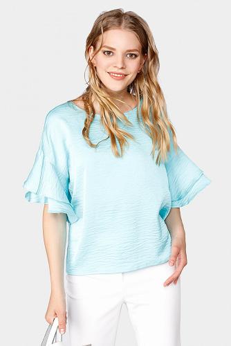 Блуза #179264Аквамарин