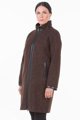 Пальто #175671Мультиколор