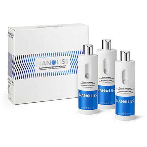 Комплекс для выпрямление волос с эффектом восстановления NANOLISS