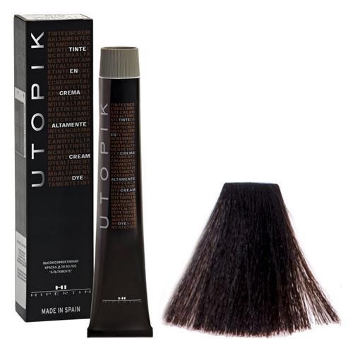 4/00+ Шатен интенсивный, стойкая краска для волос, 60 мл