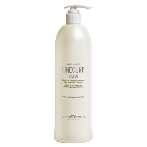 Шампунь для седых и светлых волос Linecure Silver Shampoo, 1000 мл